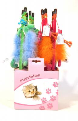 Katzenspielzeug - Katzenangel