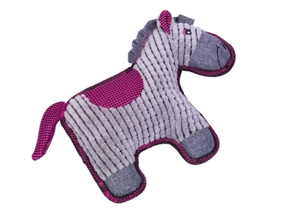 Hundespielzeug Plüwsch Pferd