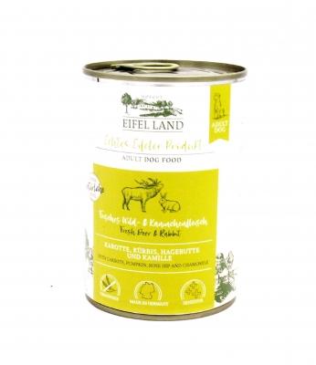 Eifel Land Wild & Kaninchen  400g Hundefutter