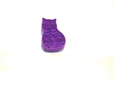 Katzen Zoom-Groom Gummistriegel
