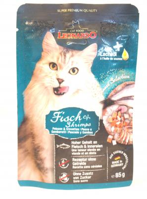 Leonardo Fisch & Shrimps 85g Beutel
