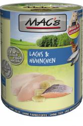 Mac's Katzendosenfutter Lachs & Hühnchen 400g