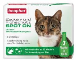 SPOT ON Zecken - Flohschutz für Katzen