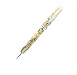 Dreh - Kugelschreiber Buche