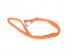 Hunde Nylonleine orange