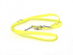 Hunde Nylonleine gelb