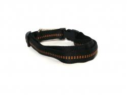 Hundehalsband Nylon schwarz