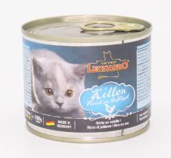 Dosenfutter Kitten Geflügel 200g