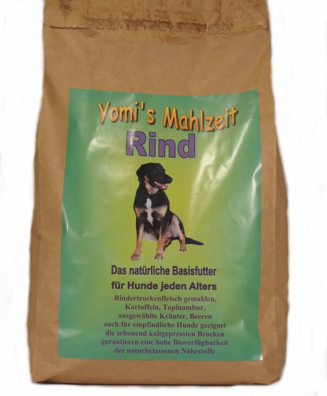 yomis mahlzeit rind hundefutter trocken im yomis online shop bestellen. Black Bedroom Furniture Sets. Home Design Ideas